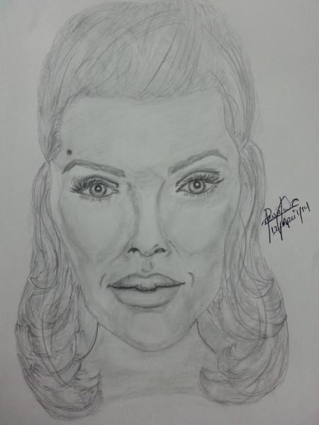 Angelina Jolie par perriejohn